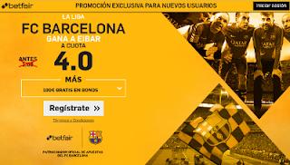 betfair supercuota 4 Barcelona gana Eibar Liga 21 mayo