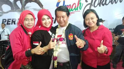 Deklarasi Omah Jokowi Klaten Target Kemenangan 85℅ Untuk Capres Pasangan Jokowi - KH Ma'ruf Amin