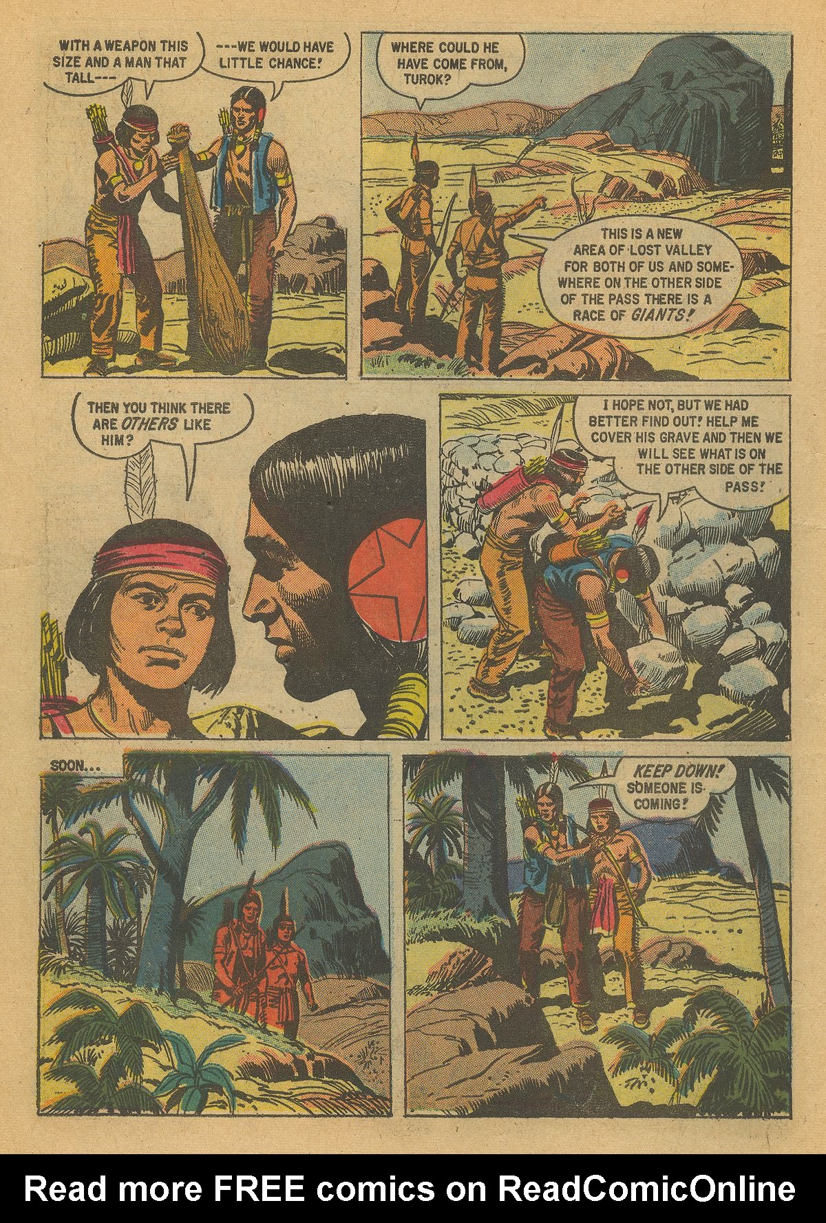 Read online Turok, Son of Stone comic -  Issue #16 - 6