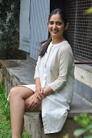 Radhika Cute Young New Actress in White Long Transparent Kurta ~  Exclusive Celebrities Galleries 054.JPG