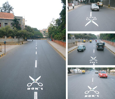 14 Creative and Clever Uses of Road in Advertisements (14) 7