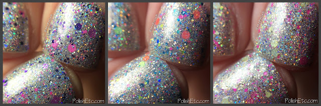 Glam Polish - Friendship is Sparkly Trio Part 2 - McPolish