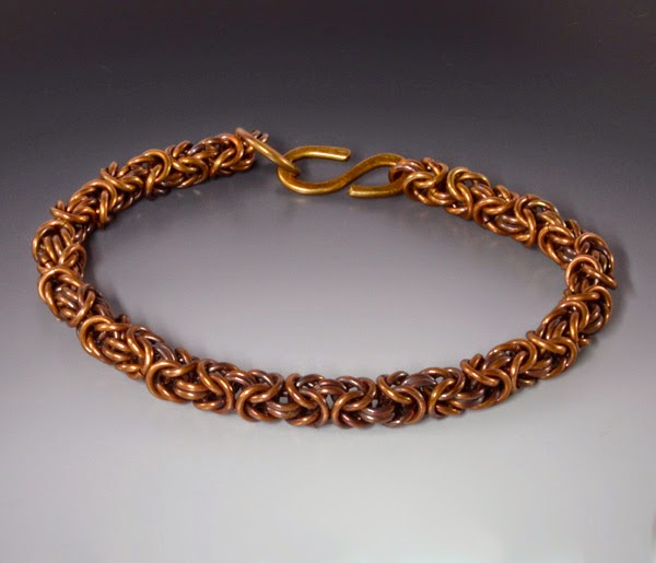 http://brackendesigns.com/product/bronze-byzantine-chainmaille-bracelet-large-size-patina-handmade