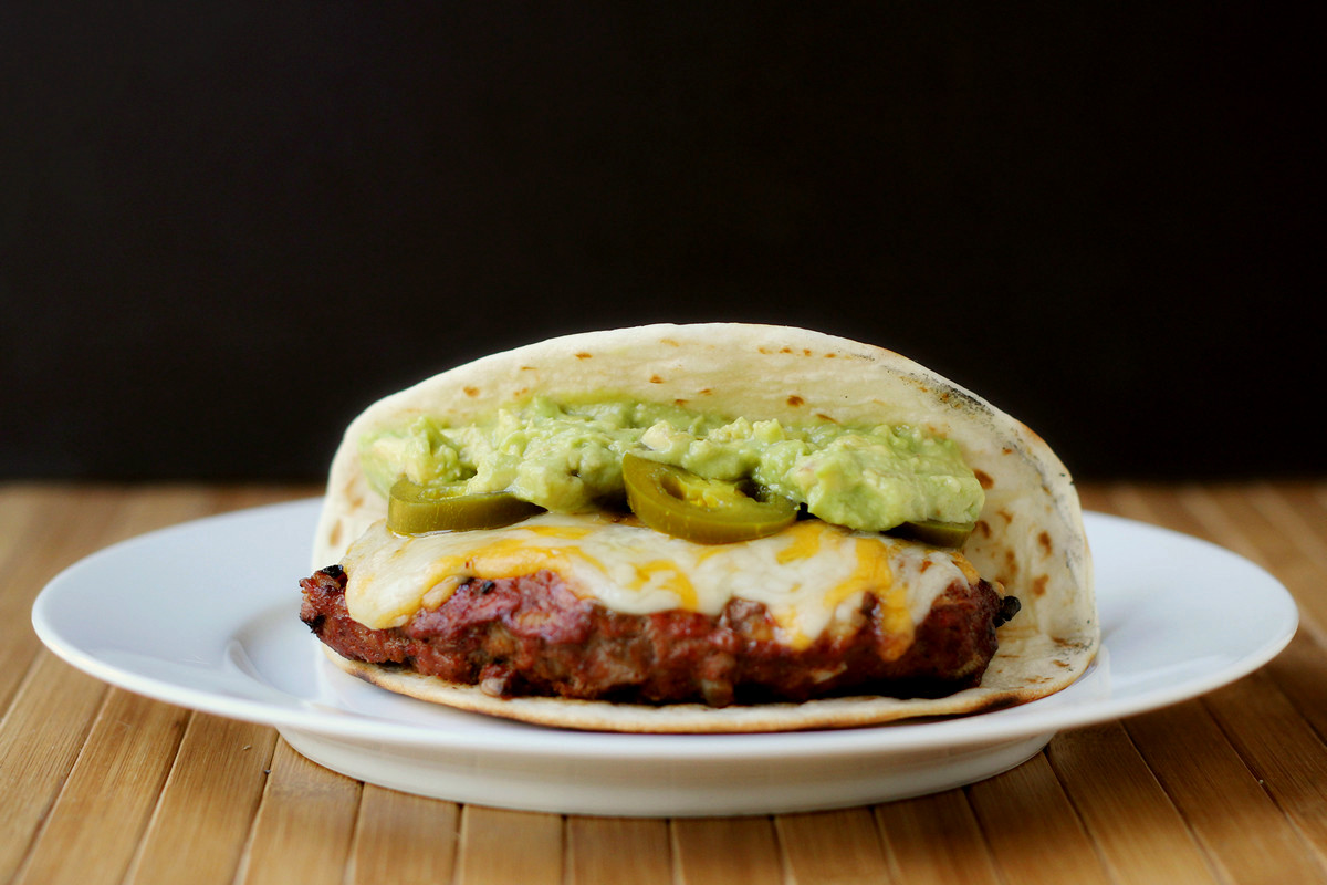Ground meat isn't unusual in a taco, but I decided to change things up ...