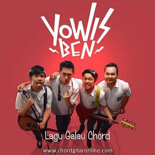 Kunci Gitar LAGU GALAU YOWIS BEN 2 Chord Lirik Lagu