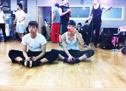 2pm wooyoung 2am kwon jo entertainment jyp pop jype variety practice july teases showdown take jokwon hard lover hyeri han