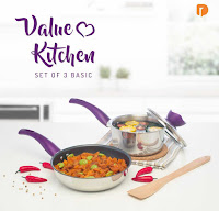 Dusdusan Value Kitchen Set of 3 Basic ANDHIMIND