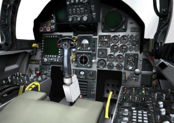 Boeing F-15SE Silent Eagle cockpit