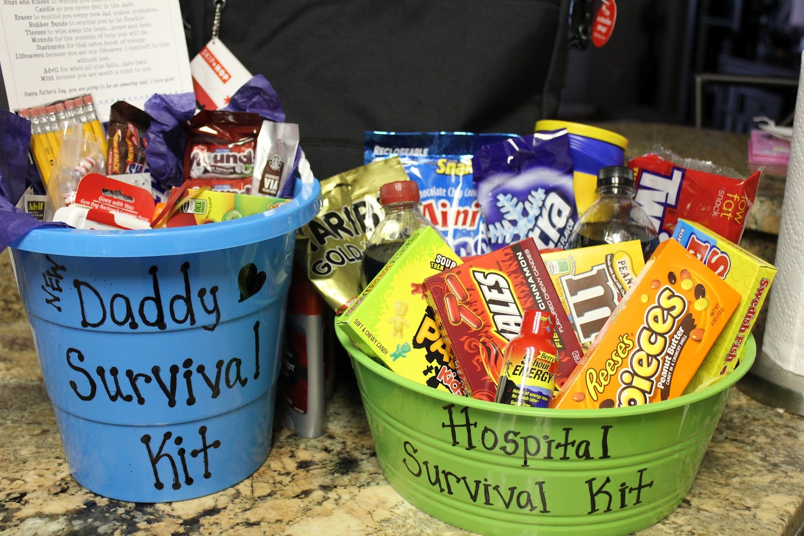 Simply Made With Love Daddy Survival Kit Hospital