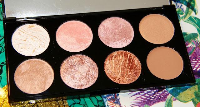 photo beauté beaute beauty golden sugar makeup revolution palette highlighter