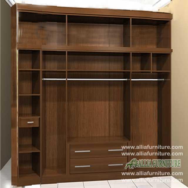 lemari pakaian minimalis cabinet 6 pintu hero