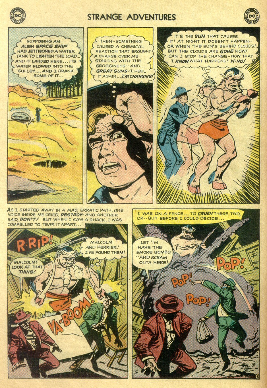 Strange Adventures (1950) issue 172 - Page 8