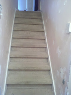 DIY Staircase Refinishing.