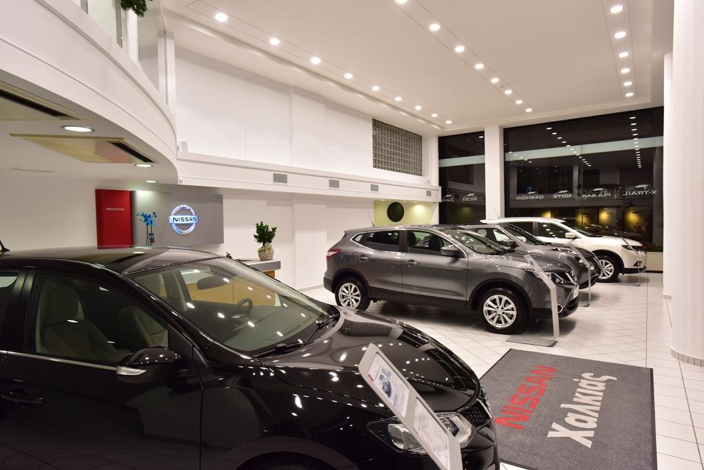 NISSAN HALKIAS3 Νέα έκθεση αυτοκινήτων Nissan στην Καλλιθέα. Nissan