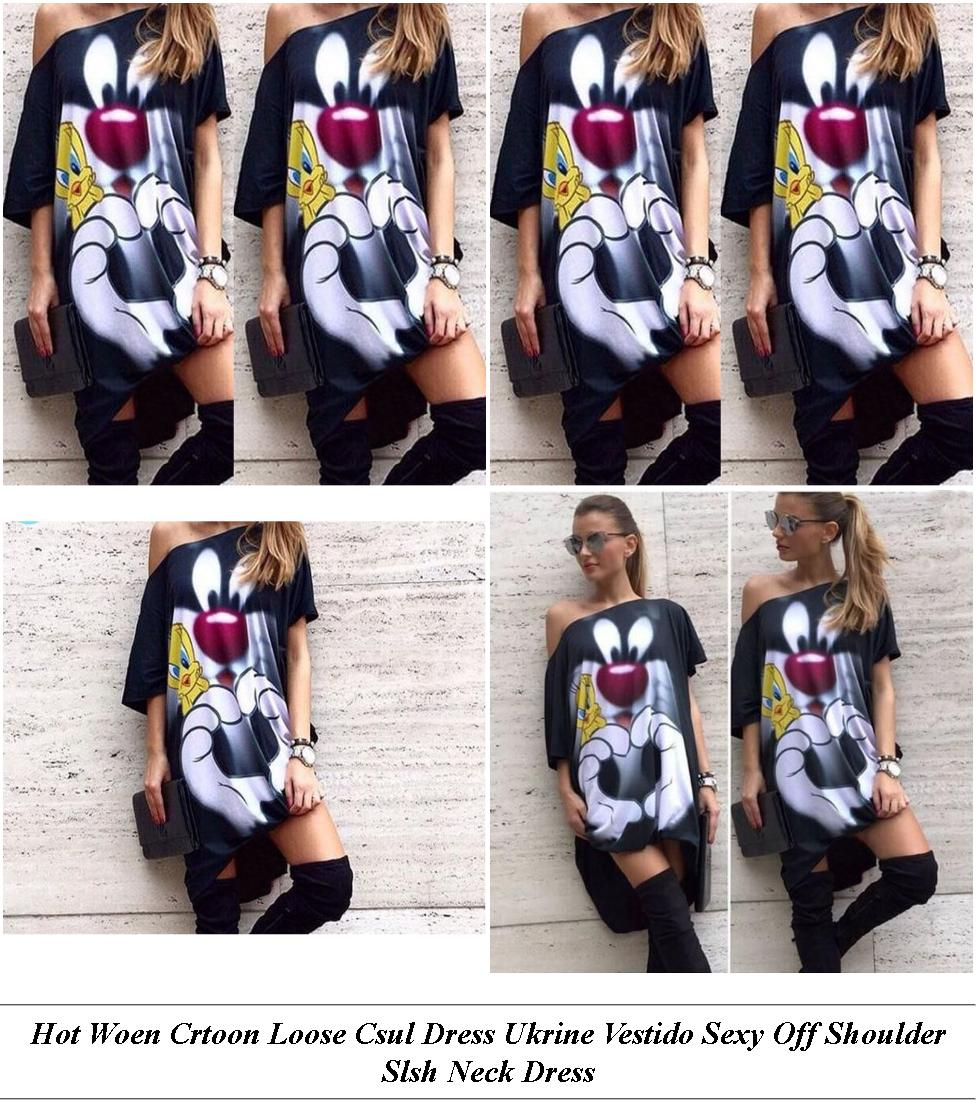 Flower Girl Dresses - Womens Summer Dresses On Sale - Shift Dress - Cheap Designer Clothes Womens