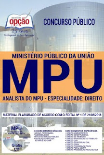 Apostila Concurso MPU 2018 Download