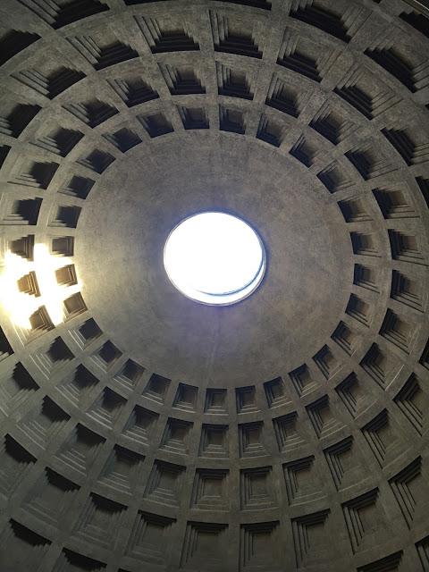 Pantheon - Rome voute