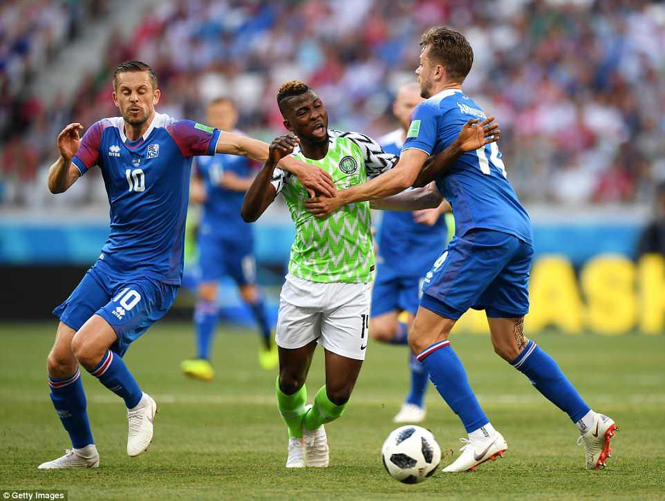 Nigéria derrota Islândia e disputa com Argentina uma vaga nas ... f18f9fa2a5fb5