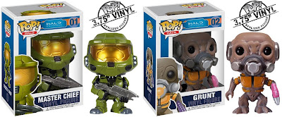 Halo Pop! Series 1 by Funko - Master Chief & Grunt Vinyl Figures