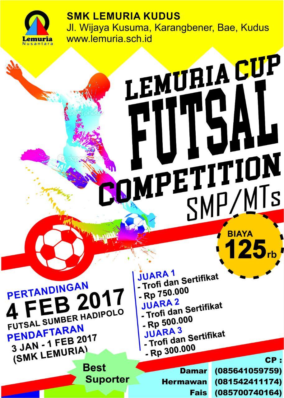 Lemuria Cup Futsal Competition Smk Lemuria