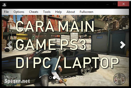 Cara Main Game Playstation 3 (PS 3) di PC Laptop