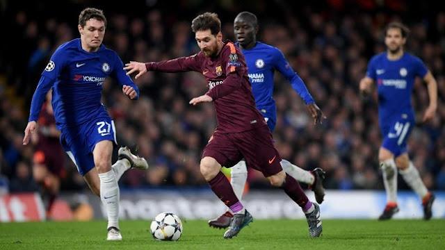 Liga Champions: Chelsea vs Barcelona Berakhir Imbang 1-1