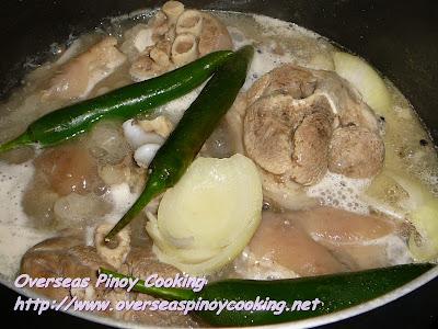 Paksiw na Pata Batangas Style - Cooking Procedure