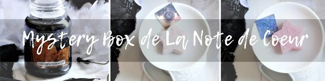 avis Mystery Box de La Note de Coeur, box bougie, box bougie parfumee, scented candle box, blog bougie, box yankee candle, candle review