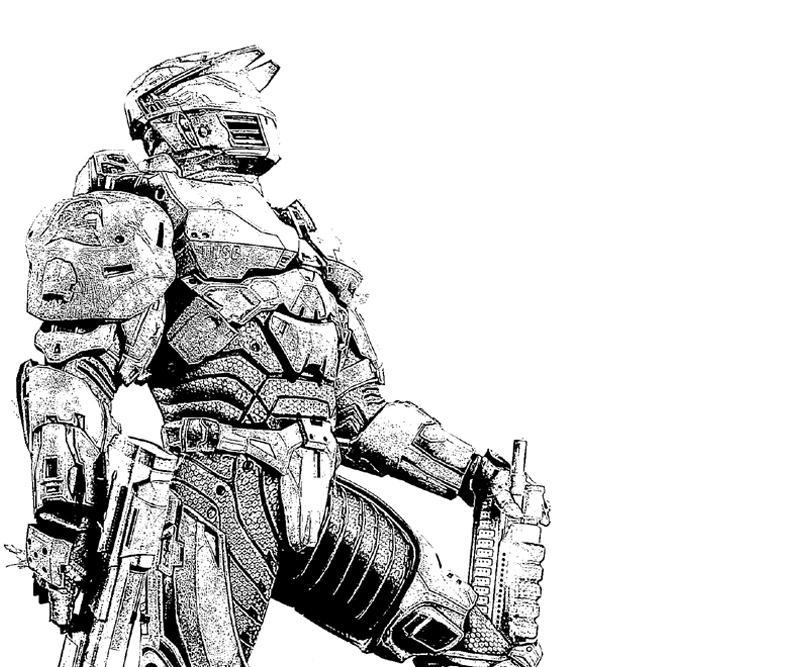 halo 4 character coloring pages list | Halo 4 Character | Yumiko Fujiwara