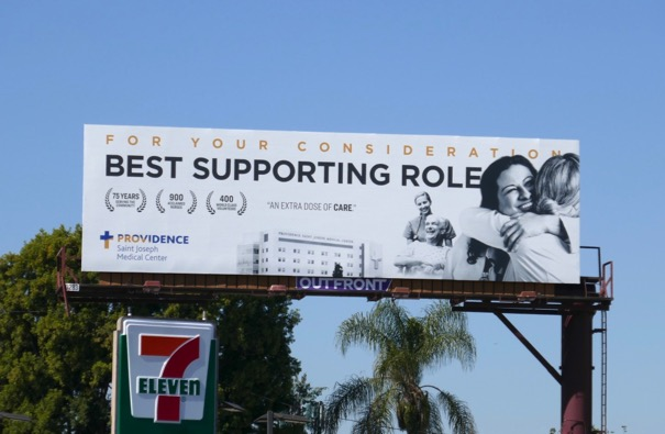 Best Supporting Role Providence Medical billboard