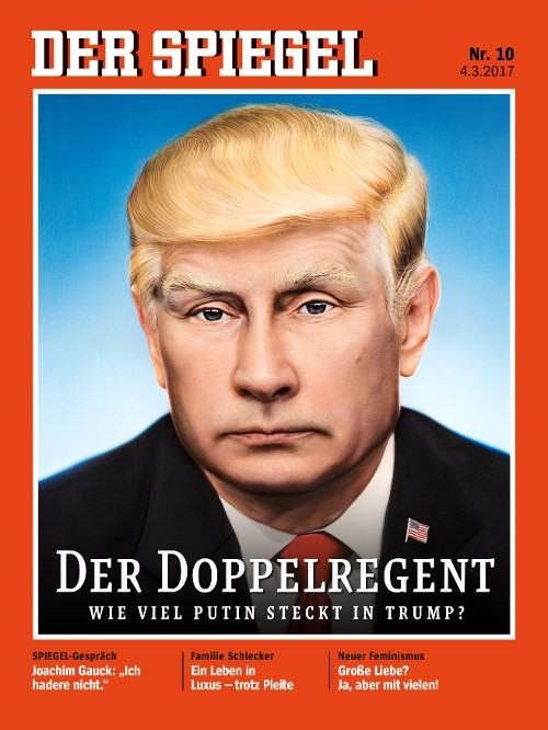 Travels and more with cecilia brainard donald trump in for Spiegel cover