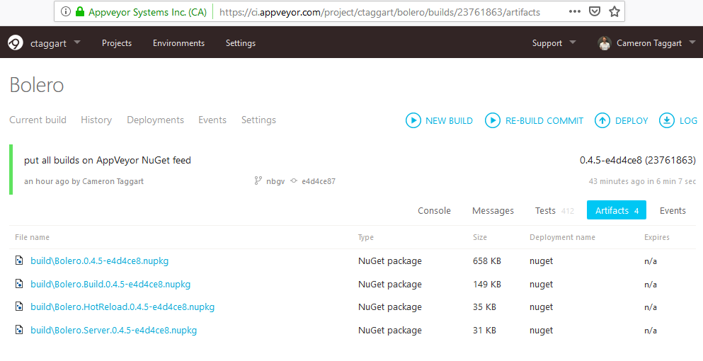 automate your  NET versioning with GitVersioning | Taggart
