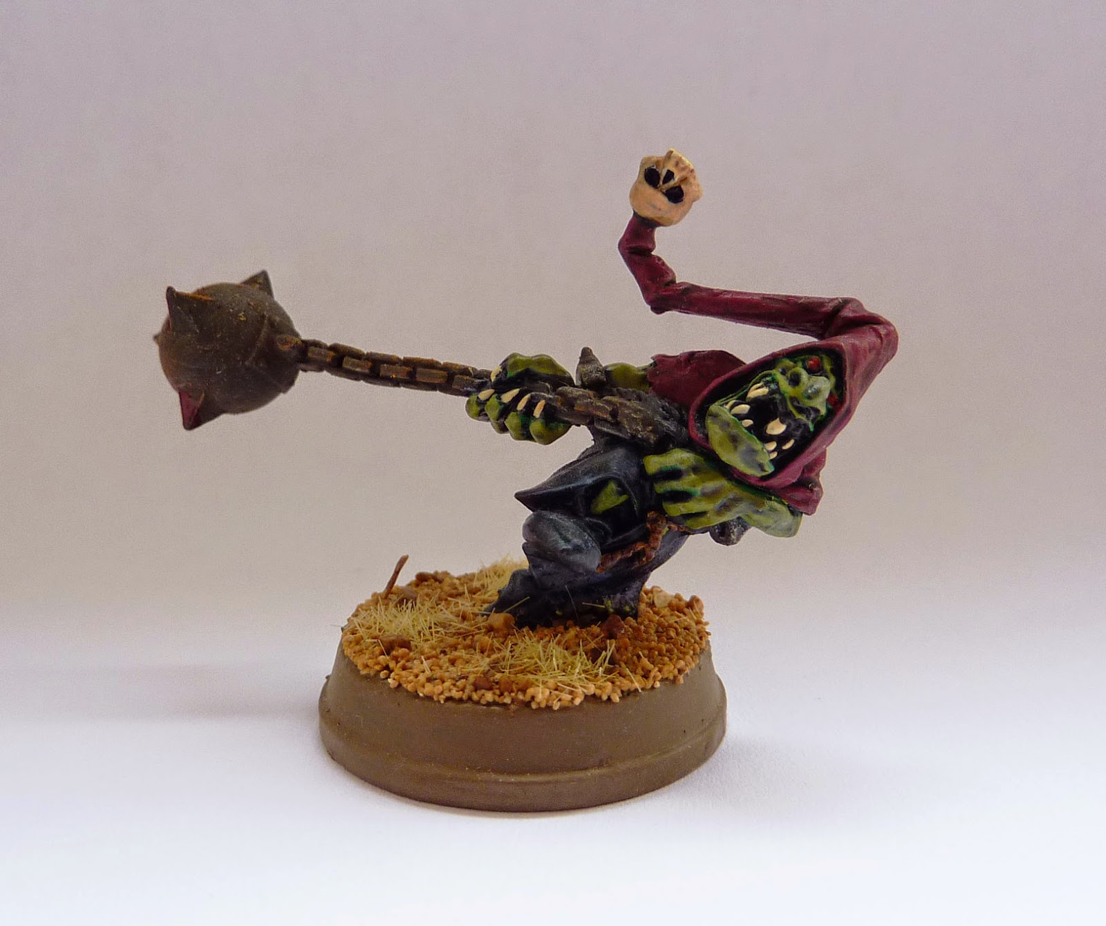 Night Goblin fanatic from Warhammer Fantasy Battle.