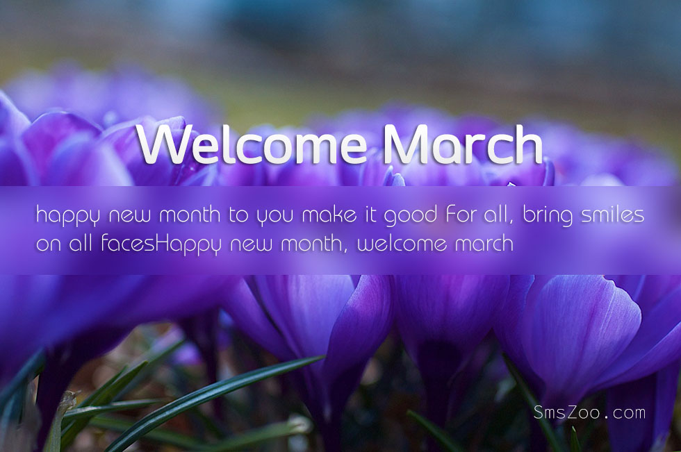 Entynas world happy new month of march happy new month of march hello darlings m4hsunfo