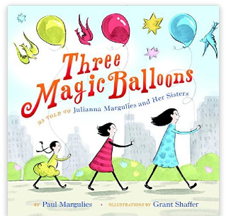 three magic balloons cover