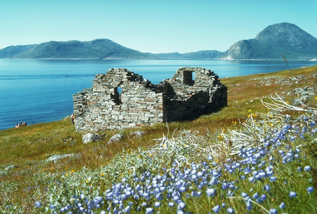 Hvalsey, Greenland --- Ruins of Viking Church --- Image by © Wolfgang Kaehler/CORBIS