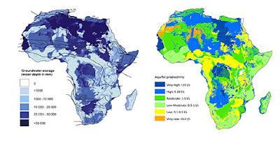 «Ωκεανοί» κάτω από την άνυδρη Αφρική