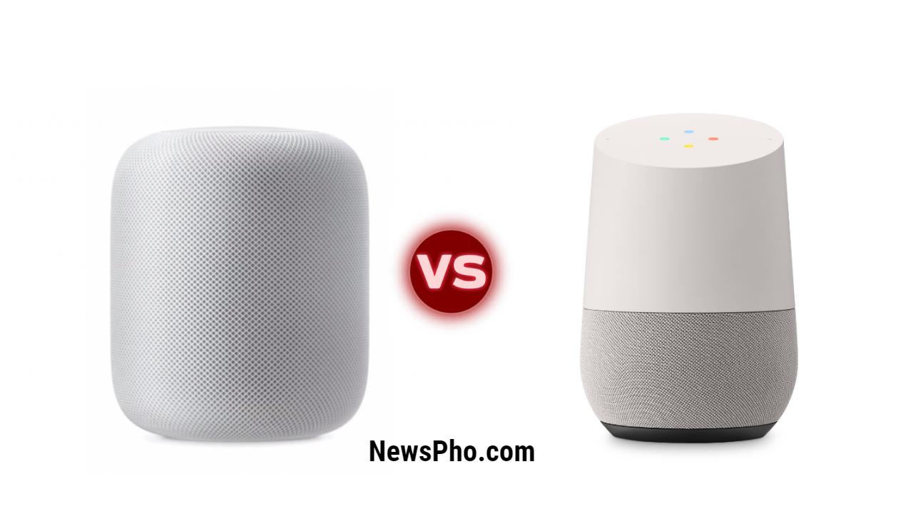 Compare Apple Homepod Vs Google Home / price / Review / Design ...