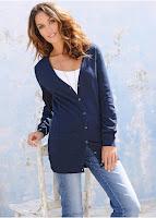 Jachetă lungă tricotată bonprix (bonprix)