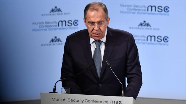 """Lavrov tacha de 'mito irracional' la """"amenaza rusa"""" para Europa"""