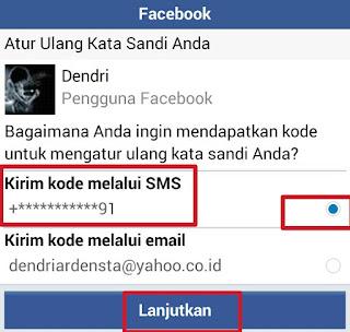 Cara Mengganti Kata Sandi Facebook Yang laupa