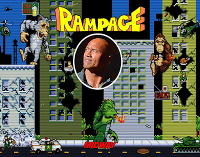 rampage movie the rock