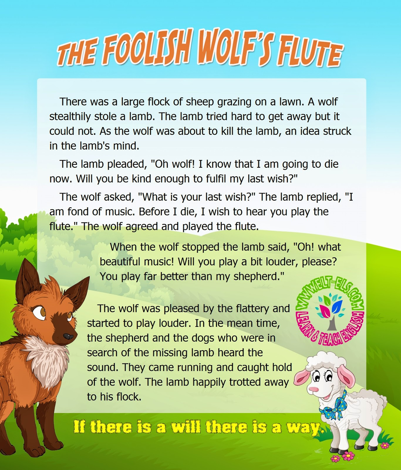 The Foolish Wolf S Flute