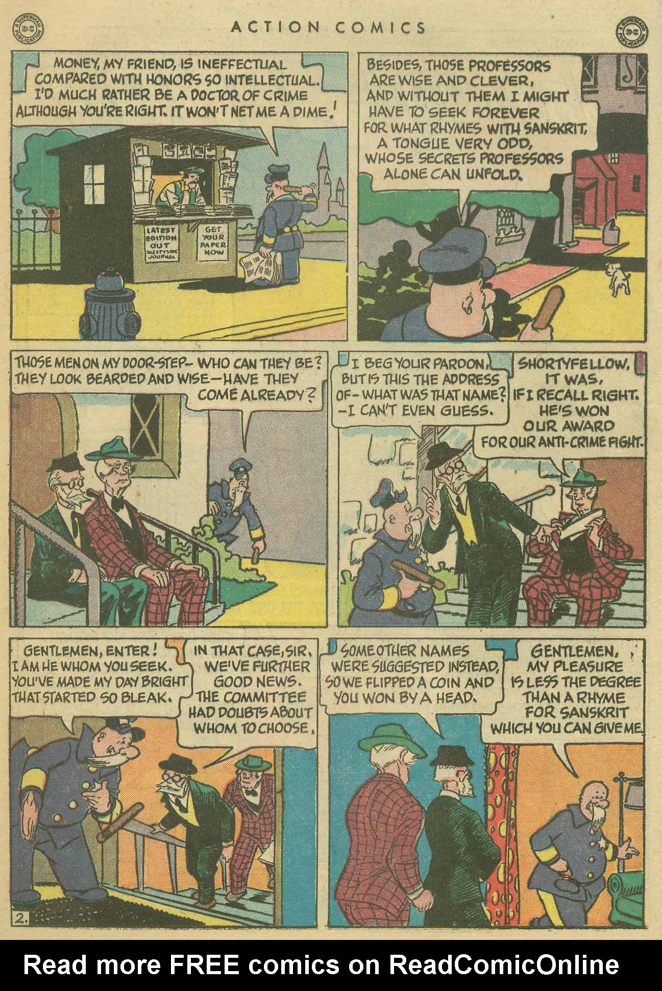 Read online Action Comics (1938) comic -  Issue #102 - 17