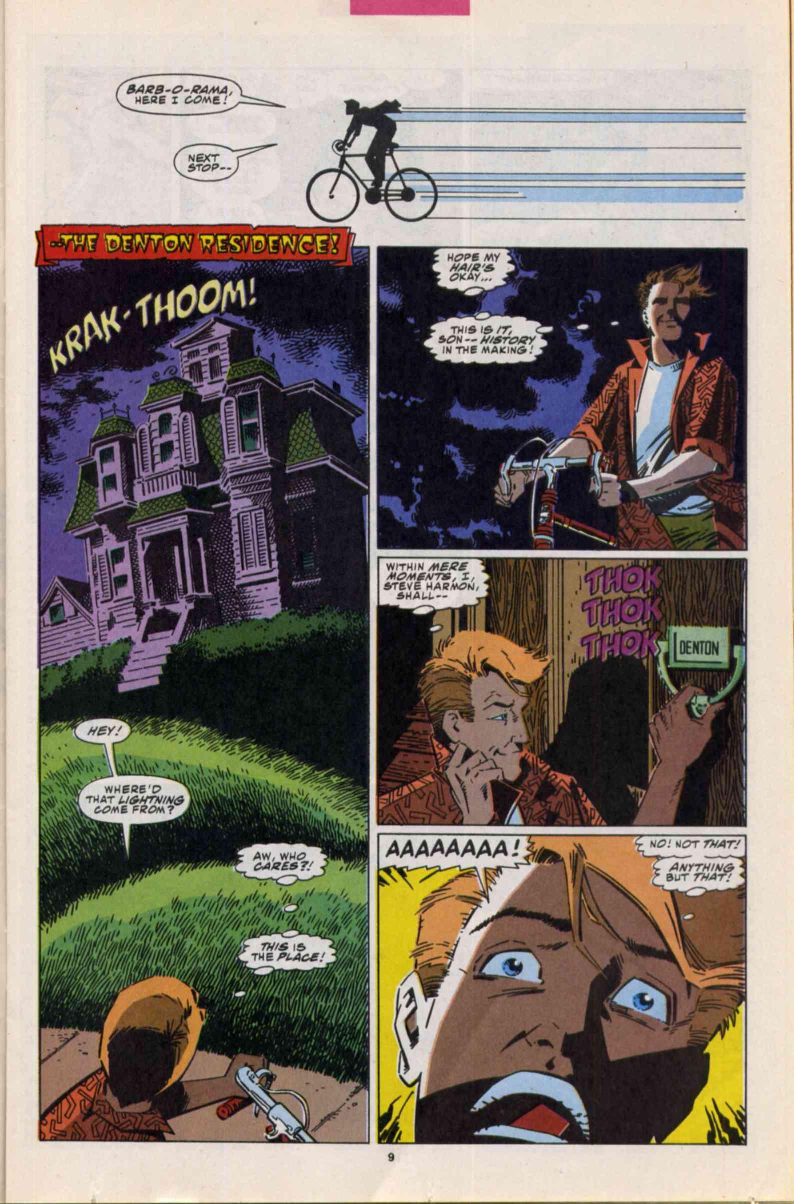 Read online Slapstick comic -  Issue #3 - 7