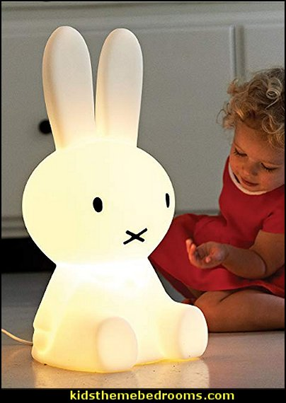 Miffy Dimmable LED Light  peter rabbit bedroom - decorating peter rabbit theme bedroom - peter rabbit theme room ideas -  Beatrix Potter themed nursery - beatrix potter nursery decor - Beatrix Potter Nursery Murals - peter rabbit nursery decorating ideas - Peter Rabbit Beatrix Potter art - Beatrix Potter wall decals  Peter Rabbit bedding - peter rabbit wall murals - beatrix potter characters plush toys - bunny rabbit decor - bunny baby bedrooms - bunny rabbit theme bedrooms