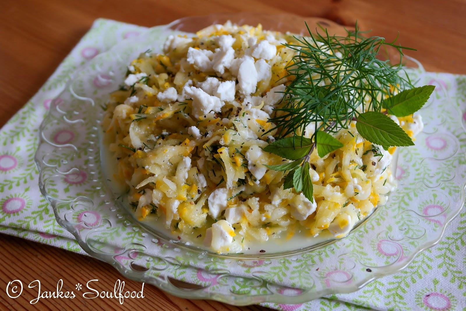 Die schnabulöse Zucchini-Woche von Jankes Soulfood