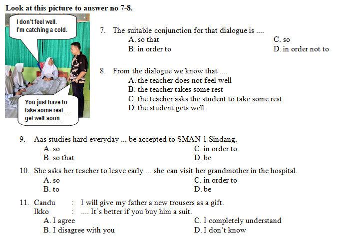 Kisi Kisi Soal Dan Kunci Jawaban Pas Bahasa Inggris Smp Kelas 9 Semester Ganjil Didno76 Com
