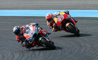 Honda Mendominasi MotoGP, Ducati Tidak Terintimidasi Olehnya