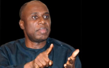 No one in this world can prove I stole Rivers State money – Former governor, Rotimi Amaechi